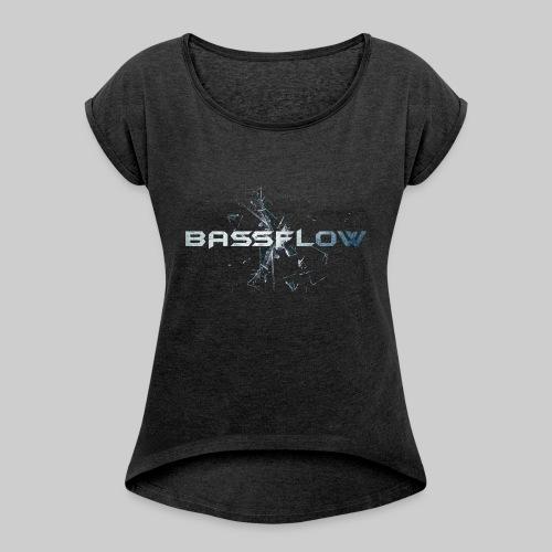Bassflow Shirt - Men - Vrouwen T-shirt met opgerolde mouwen