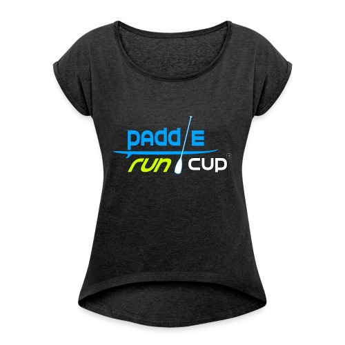 paddle_run_couleur_d--tour-- - T-shirt à manches retroussées Femme
