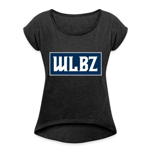 spartaner_walbeze_wlbz - Frauen T-Shirt mit gerollten Ärmeln