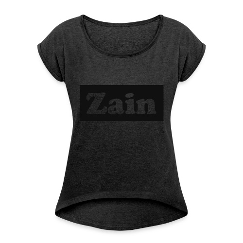Zain Clothing Line - Women's T-shirt with rolled up sleeves