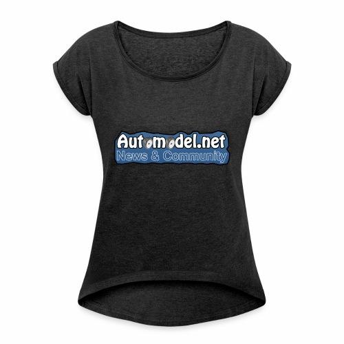 Automodel.net - Maglietta da donna con risvolti