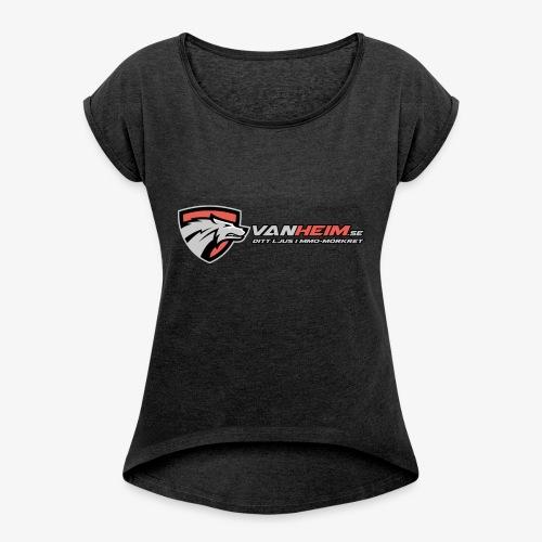 Vanheim liten - T-shirt med upprullade ärmar dam