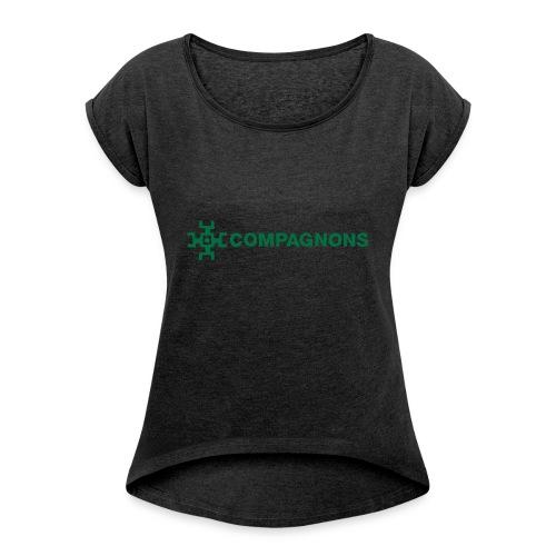 Branche Compagnons - T-shirt à manches retroussées Femme