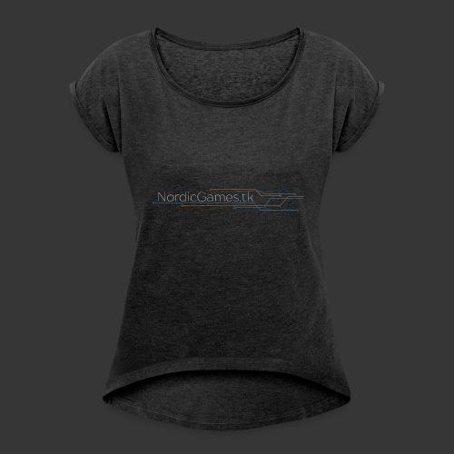 NordicGames.tk Logo - Dame T-shirt med rulleærmer