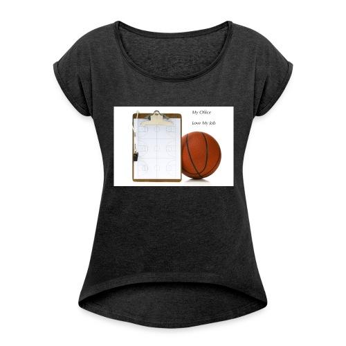 Coach Basket Lifestyle - T-shirt à manches retroussées Femme