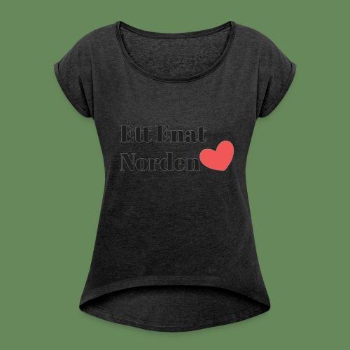 Ett Enat Norden - T-shirt med upprullade ärmar dam