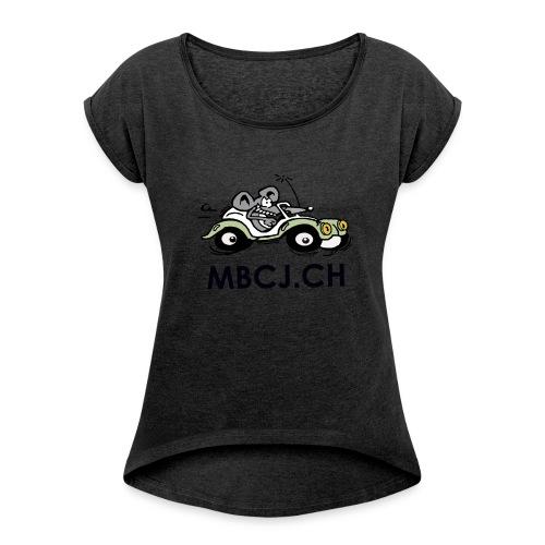 logo mbcj 50cm sans arc - T-shirt à manches retroussées Femme