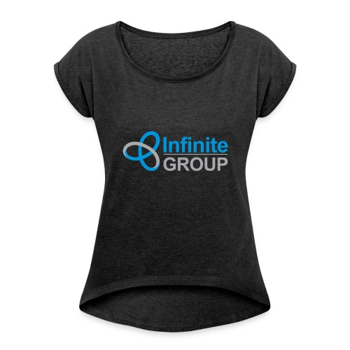 The Infinite Group - Women's T-shirt with rolled up sleeves