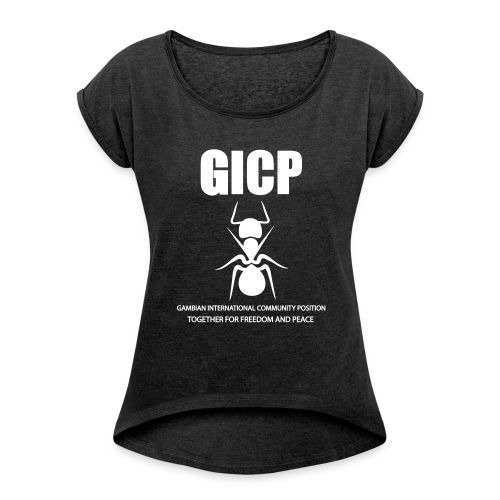 GICP - Women's T-Shirt with rolled up sleeves