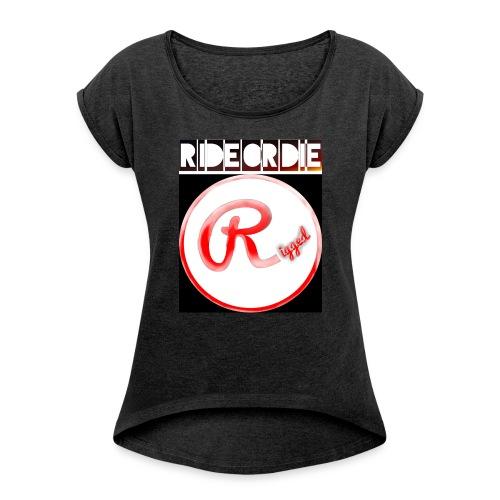 Rigged - RIDEORDIE - Frauen T-Shirt mit gerollten Ärmeln