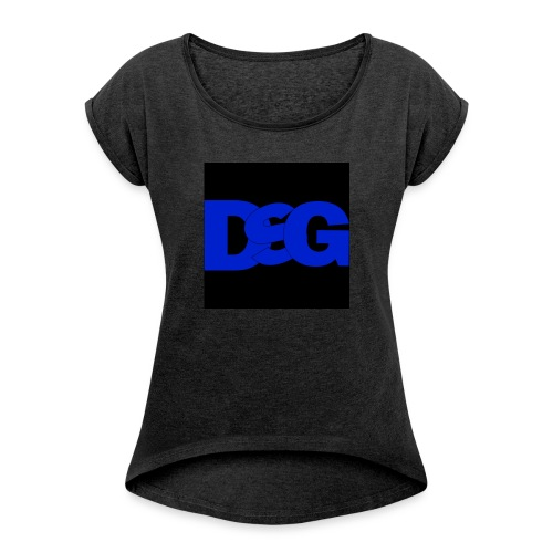 IMG 0059 - Women's T-shirt with rolled up sleeves