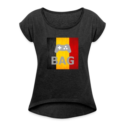 BelgiumAlpha Games - Women's T-shirt with rolled up sleeves