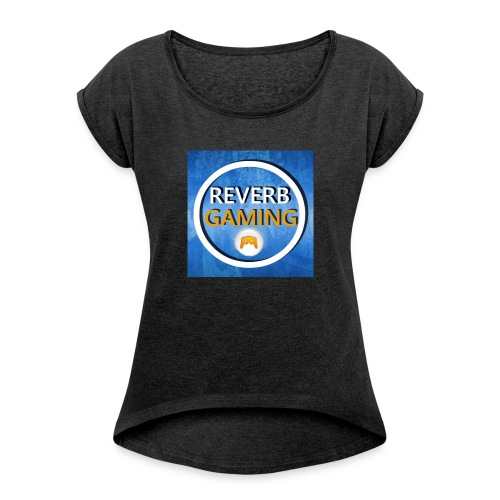Reverb Gaming - Women's T-shirt with rolled up sleeves