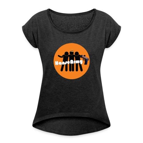 HanseArmy Shoppen - Dame T-shirt med rulleærmer