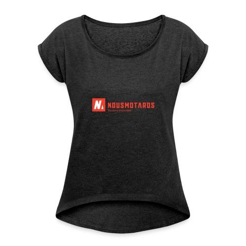 NMKEY - T-shirt à manches retroussées Femme