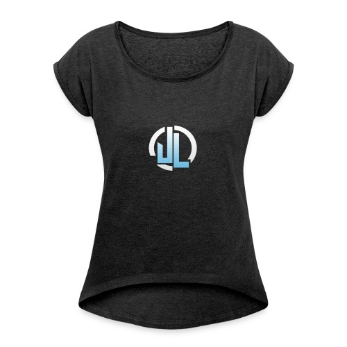 The JL Logo - Women's T-shirt with rolled up sleeves