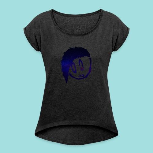 BengelB Logo - Frauen T-Shirt mit gerollten Ärmeln