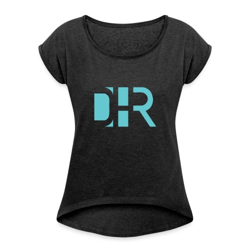 DHR Trick Shots - Women's T-shirt with rolled up sleeves