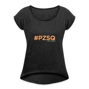 PZSQ 2 - Maglietta da donna con risvolti