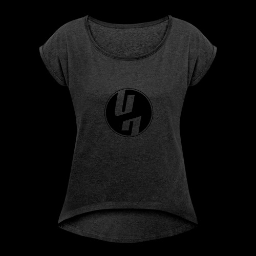 Uglyhour - Frauen T-Shirt mit gerollten Ärmeln