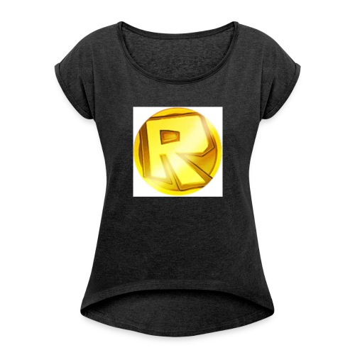 Razzerzlogoshirt - Women's T-shirt with rolled up sleeves