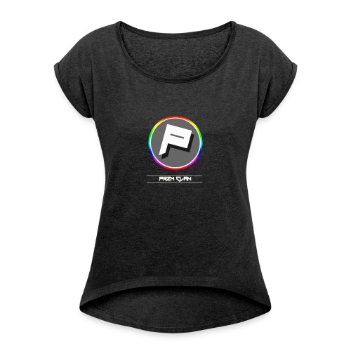 Przm Clan - Women's T-shirt with rolled up sleeves