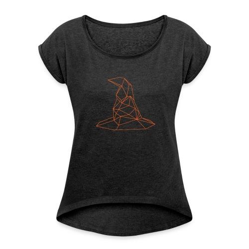 KAPELUSZ - Maglietta da donna con risvolti