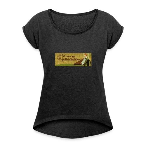 Gruppbild för Vi som syr medeltidskläder - T-shirt med upprullade ärmar dam