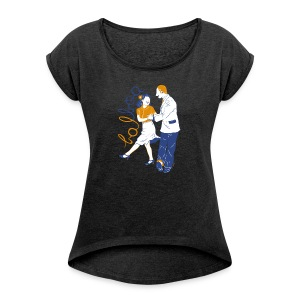 Balboa - Women's T-shirt with rolled up sleeves