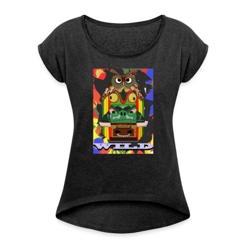 Totem Animal - T-shirt à manches retroussées Femme