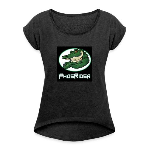 PhosRider - T-shirt à manches retroussées Femme
