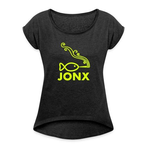 JONX BASICS - T-shirt à manches retroussées Femme