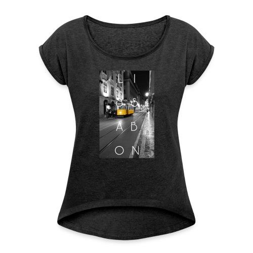 CITY Collection | Lissabon - Frauen T-Shirt mit gerollten Ärmeln