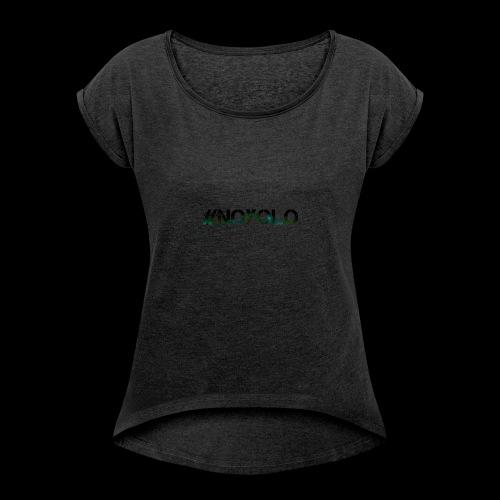 #NoYolo Kollektion - Frauen T-Shirt mit gerollten Ärmeln