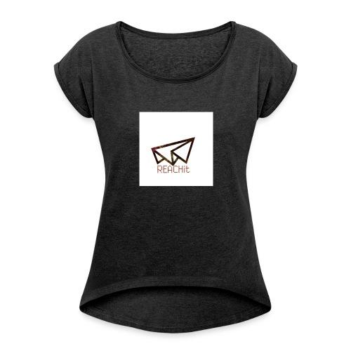 REACHit - T-shirt à manches retroussées Femme