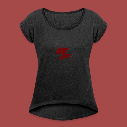 BloodFamily Collection - T-shirt à manches retroussées Femme