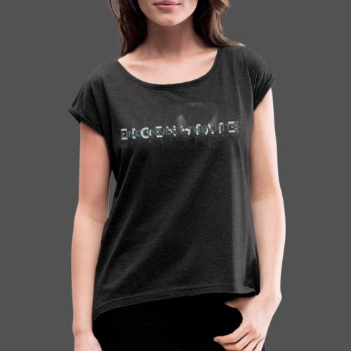 Unconnect The Dots - Women's T-Shirt with rolled up sleeves