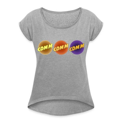 CDMM - T-shirt à manches retroussées Femme