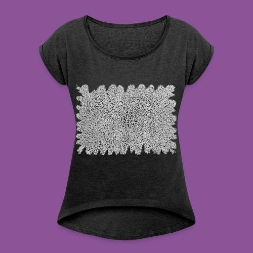 Augenbakterien 6 - Frauen T-Shirt mit gerollten Ärmeln