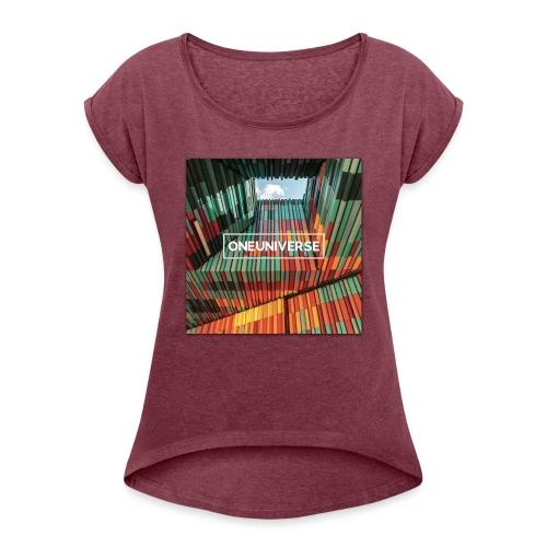 Color Style by One Universe - Maglietta da donna con risvolti