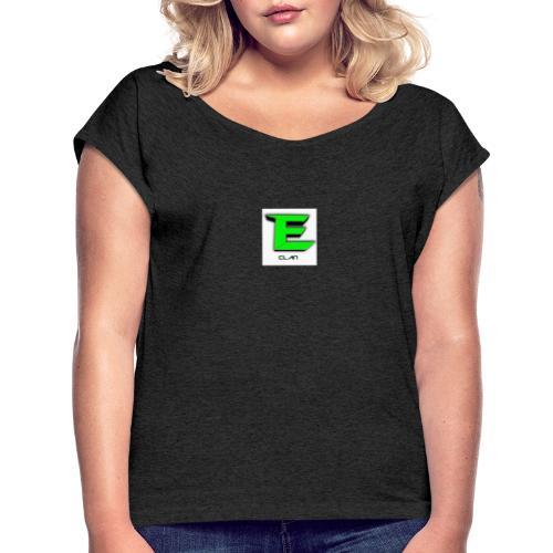 ErrorCLAN - Frauen T-Shirt mit gerollten Ärmeln