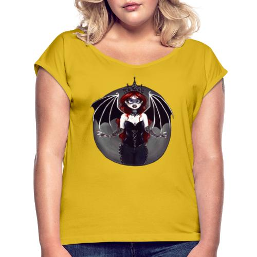 E. R. Whittingham Artwork for World Gothic Models - Women's T-Shirt with rolled up sleeves
