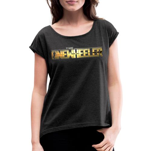 The OneWheeler Walking - Dame T-shirt med rulleærmer