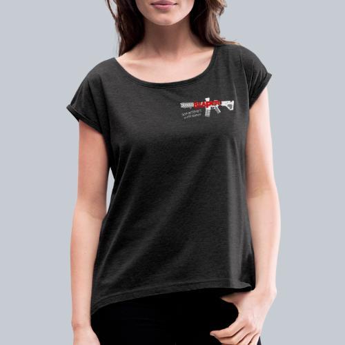 CLASSIC - REAPERs Airsoft - Frauen T-Shirt mit gerollten Ärmeln
