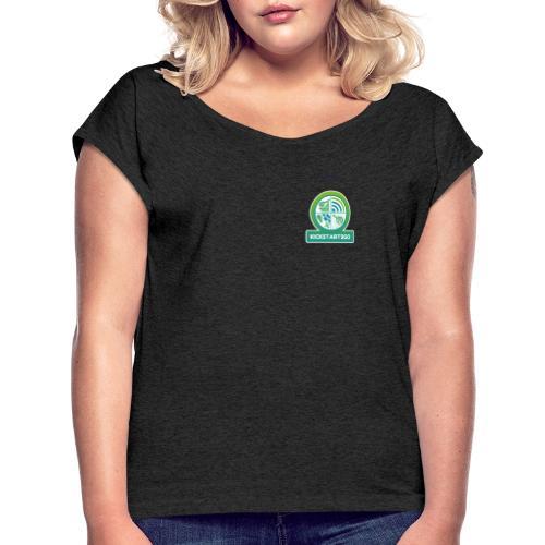 kickstart2go - Frauen T-Shirt mit gerollten Ärmeln