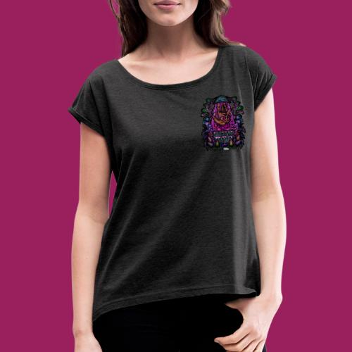 High Five - Frauen T-Shirt mit gerollten Ärmeln