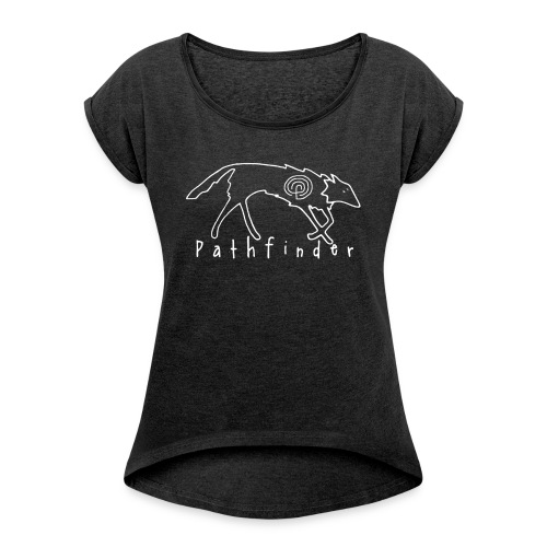 Pathfinder - Women's T-Shirt with rolled up sleeves