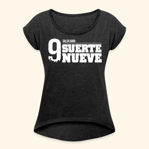 Logo Suerte - T-shirt à manches retroussées Femme