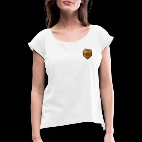 Ritter-Fest Kufstein - Official Merch by DOC - Frauen T-Shirt mit gerollten Ärmeln