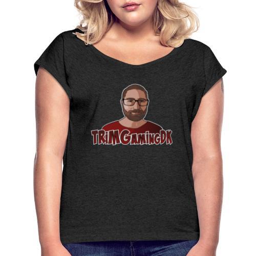 TRiMGamingDK Logo - Dame T-shirt med rulleærmer